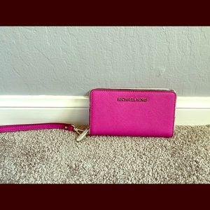 Pink Michael Kors Wallet